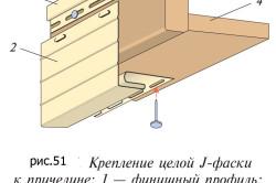 Установка фаски на фронтон