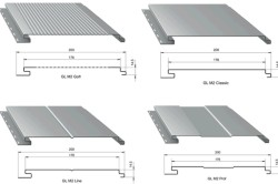 Разновидности алюминиевого сайдинга