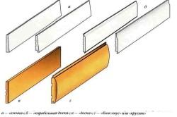 Примеры погонажного сайдинга из модифицированной древесины