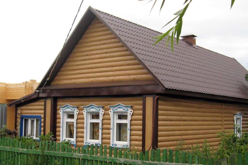 Дом утепленный под сайдинг