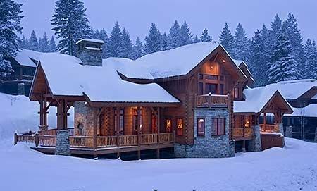 Утепленный дом в холодном климате