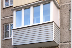 Обшивка балкона снаружи
