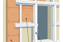 Схема обрешётки окна под сайдинг