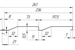 Стандартный размер винилового сайдинга